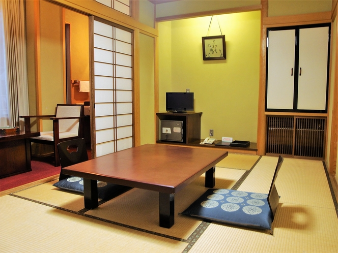 【和室7.5畳一例】1名様からご利用いただけるコンパクトな客室です