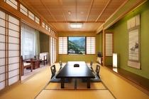 【和室12畳一例】4名様までご利用いただける、当館で一番広いタイプの客室です♪