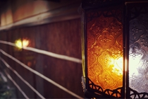 廊下ランプ