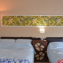Hotel Laule'a オリジナルインテリア