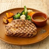 【おすすめメニュー】豚肩ロースイタリア産ドルチェポルコのグリル 和風柑橘ソース