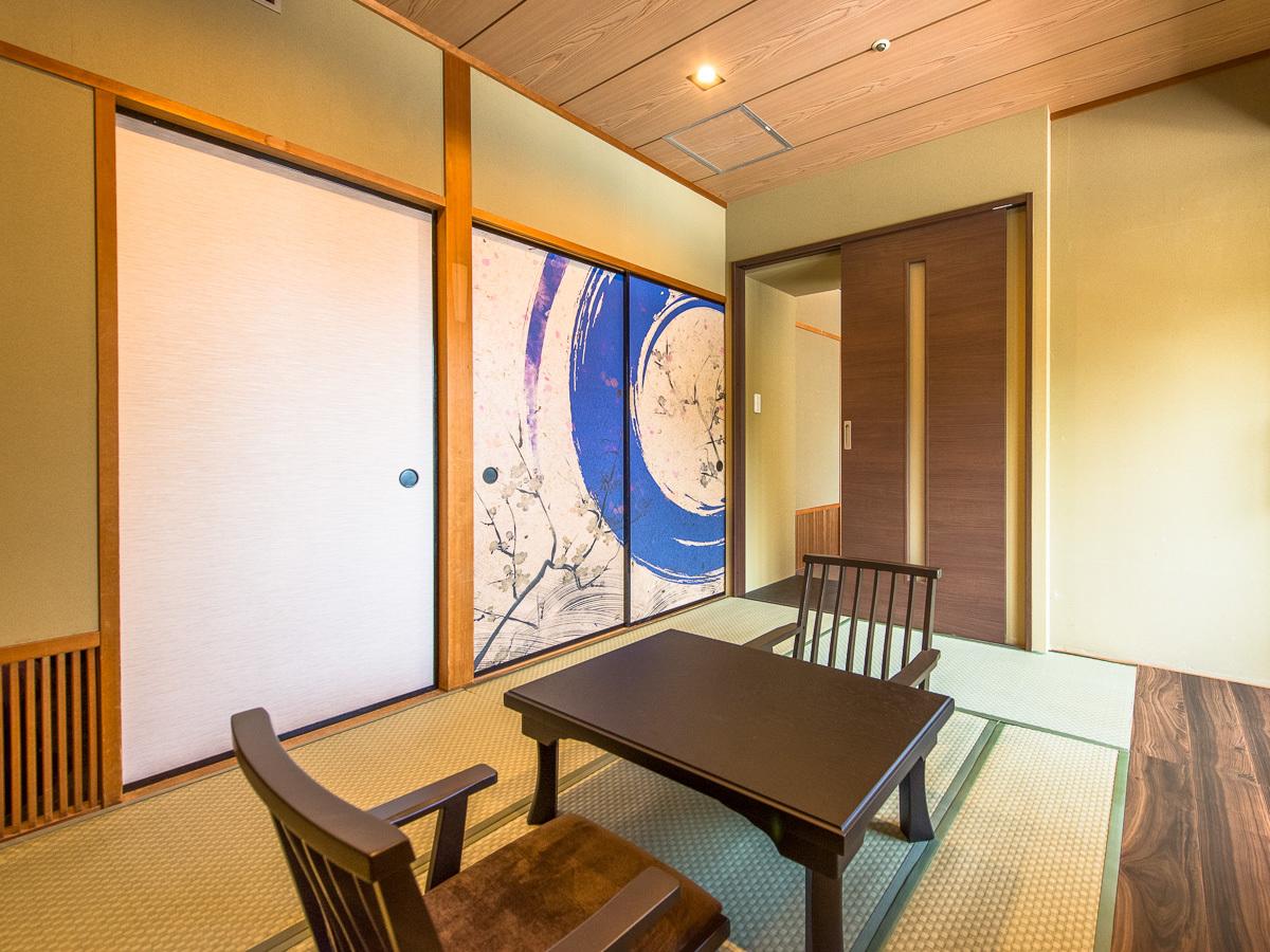 〜和モダンジュニアスイート〜 客室露天の陶器と檜は指定いただけません。ご了承くださいませ。