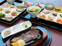 【ビュッフェ】(夕食例)