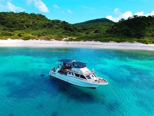 カメに会えるかも!?世界屈指の透明度を誇るケラマ諸島のスノーケリング・体験ダイビング付きプラン