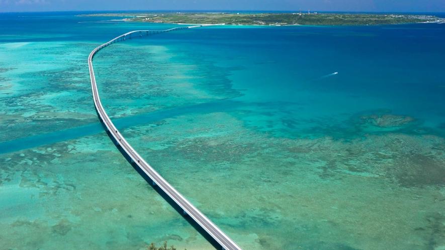 【伊良部大橋】宮古島と伊良部島とを結ぶ絶景必至の橋