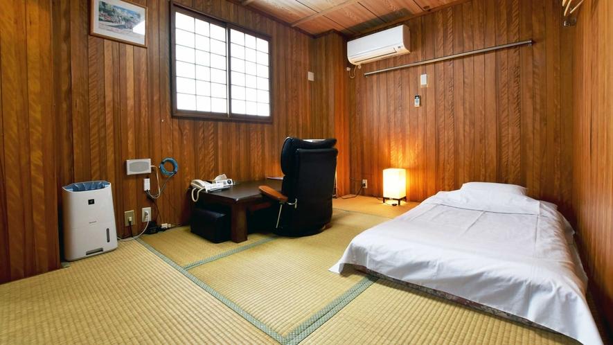 【和室6畳】木の暖かなぬくもりを感じる和室