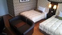 ベッドルーム(メゾネットスィート)