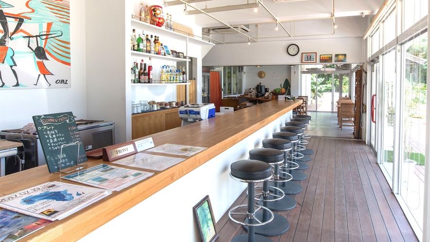 レストランフロント・バーカウンター
