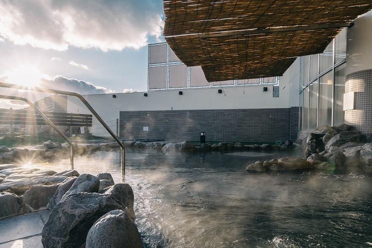 露天風呂昼の景色