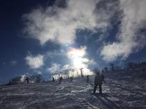 スキー風景3