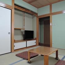*【お部屋】かえで6畳~お手洗い付きの和室へどうぞ☆