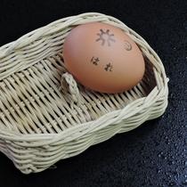 *【朝食】女将のあそびごころ♪天気予報のはんこをポンッ!