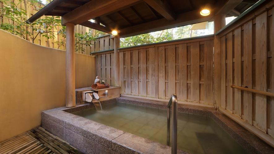 隣接の鴨川館・貸切風呂「まどか」