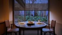 夕食:個室料亭「よしだや」(鴨川館)