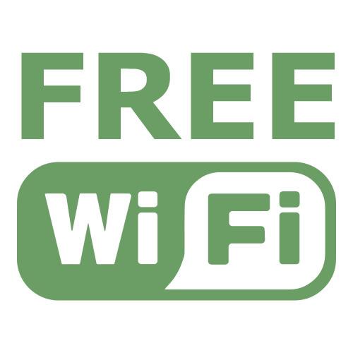 フリーWi-Fi 設置済み