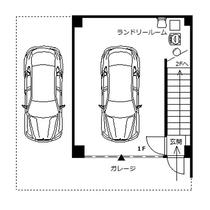 ビーチサイドハウスグラシア1階平面図 オートガレージ