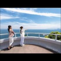 海の絶景を大パノラマで一望できる「ダグリ岬展望所」