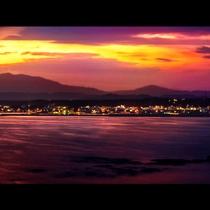 ボルベリアから望むリゾート感あふれる景色