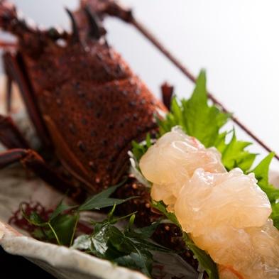 【伊勢海老、アワビ、鯛の姿造り付♪】阿波の幸プレミアムバイキング別注料理付プラン
