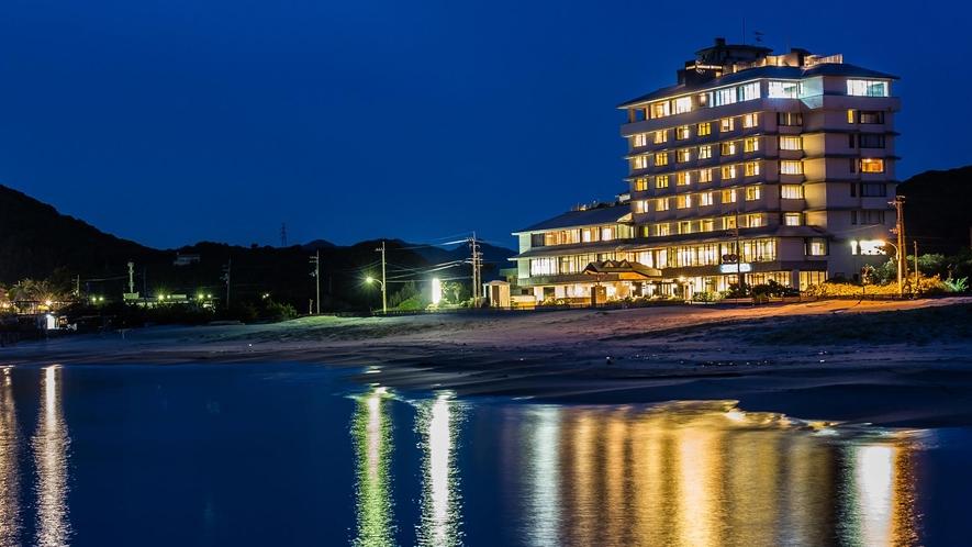鳴門グランドホテルの夜景