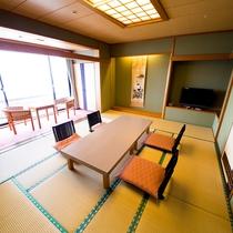 海側和室(風呂なし)