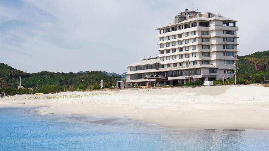 鳴門グランドホテル前の大毛海岸
