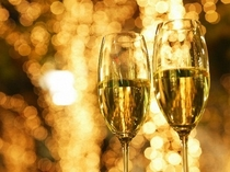お祝いスパークリングワイン