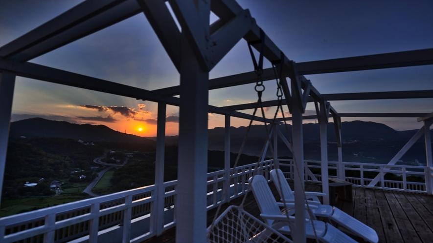 屋上展望デッキからの眺望