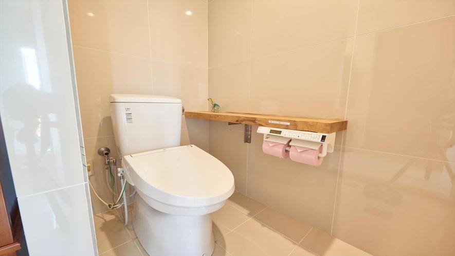 【スーペリアルーム】トイレ