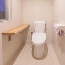 スタンダードルーム 32㎡ 独立個室のトイレルーム