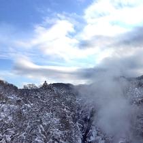 *周囲風景/四季でいろいろな表情を見せる原風景。冬の雪化粧が風流です!