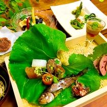 *【料理一例】見た目にも美しいお料理は、より一層食欲をそそります。