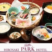青森県郷土料理「かご膳」