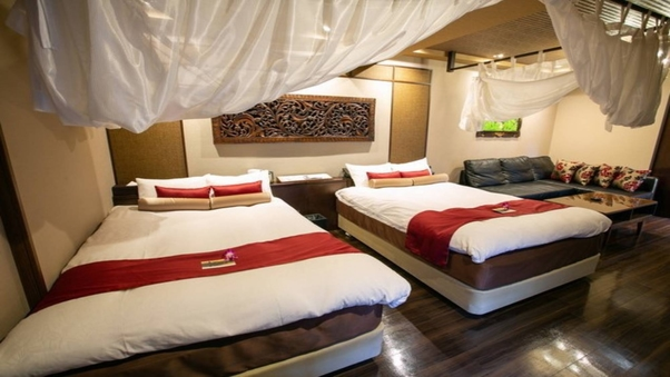 プラチナスイートルーム40平米《140cm幅ベッド2台》禁煙