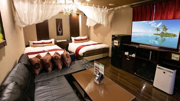 ロイヤルスイートルーム36平米《140cm幅ベッド2台》禁煙