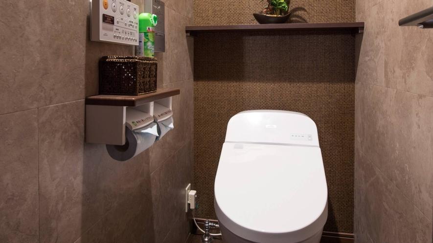 【全ての客室】全自動洗浄機付きトイレ