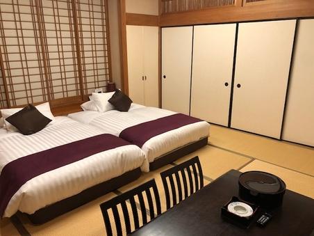 【温泉露天風呂付き客室】彩雲 シモンズベッド◆45平米◆