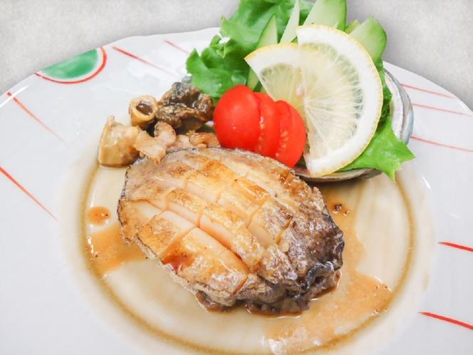 鮑のステーキ・オプション料理(4日前まで受付)