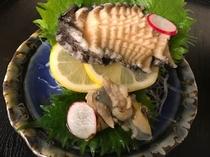 鮑のお刺身・オプション料理(4日前まで受付)