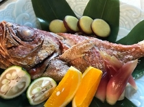 金目鯛の塩焼き・オプション料理(4日前まで受付)