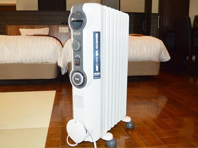 【全室設置】オイルヒーター