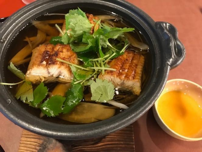 【夕食】※一例 鰻の柳川風