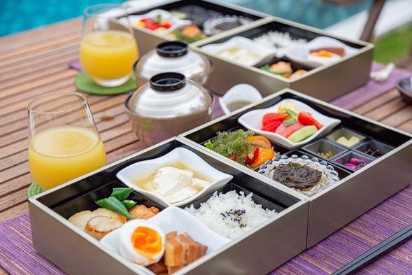 【朝食付きプラン】清々しい朝空を眺めながら優雅なお食事を