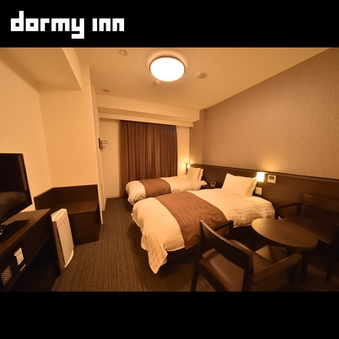 【喫煙】ツインルーム〜2ベッド(120×195cm)〜