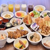 【和洋朝食バイキング】