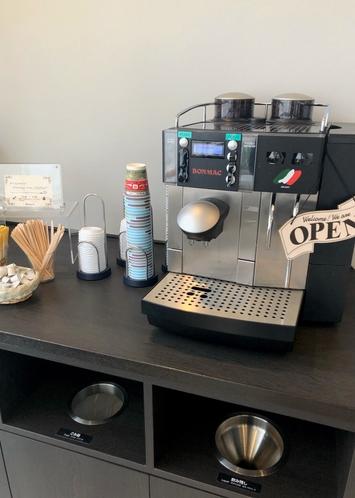ウェルカムコーヒーサービス!
