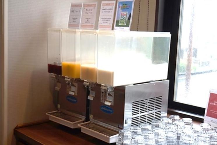 【ドリンクコーナー】北海道限定の乳酸菌飲料「カツゲン」もご用意しております。