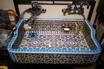 モロッコタイルキッチン