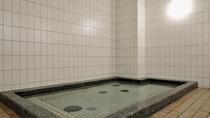 *サウナ完備の大浴場。ゆったりと疲れをお取り下さい