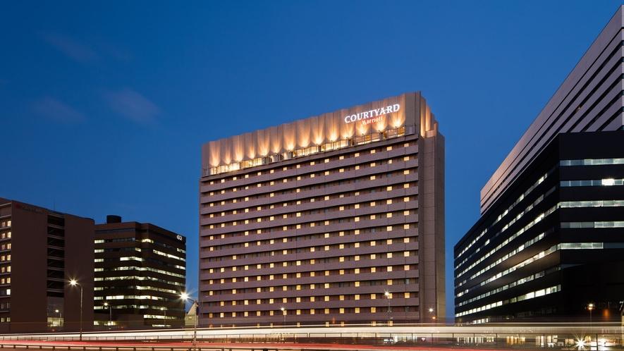 ホテル外観 ナイトイメージ
